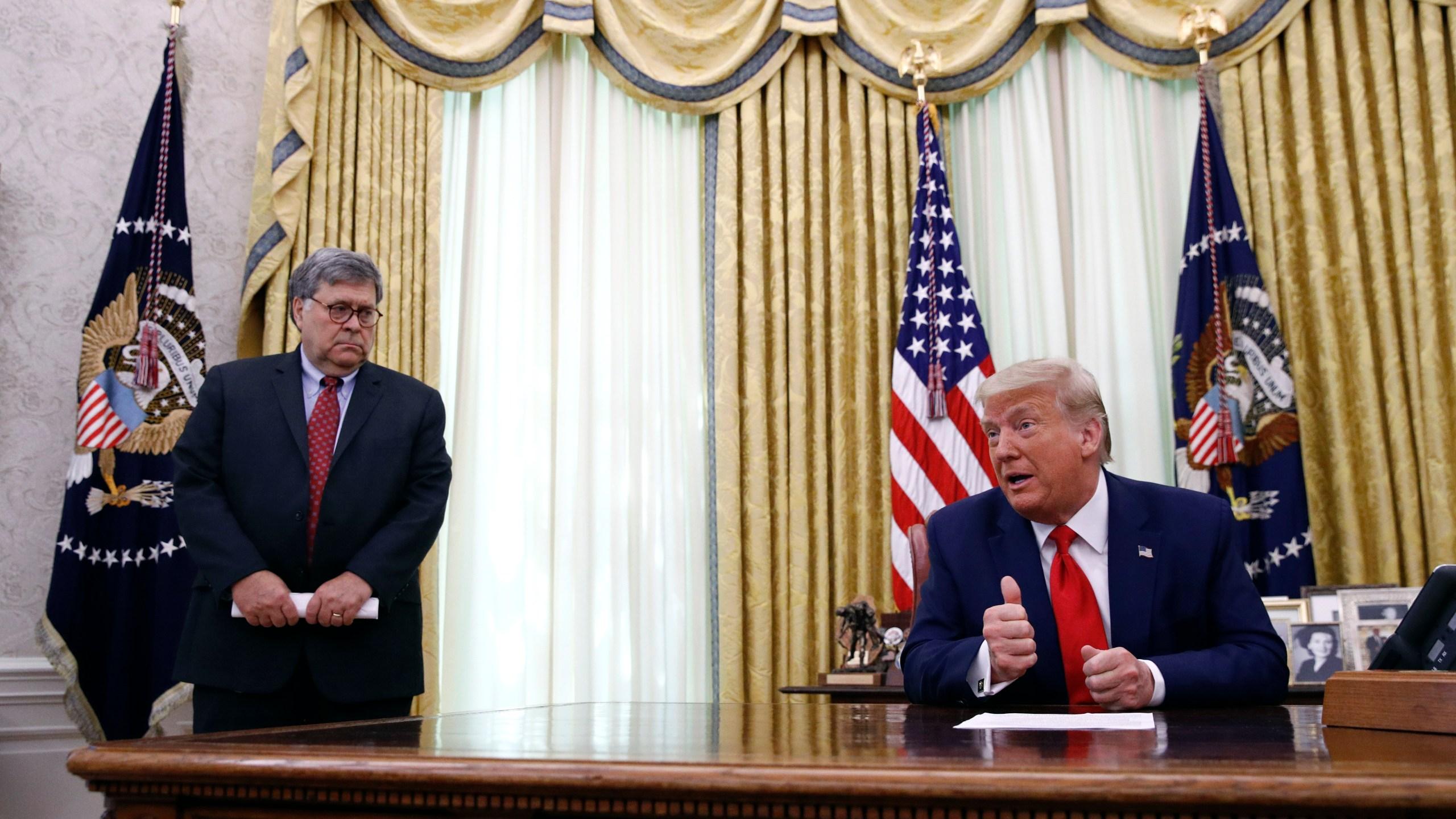 Donald Trump, William Barr