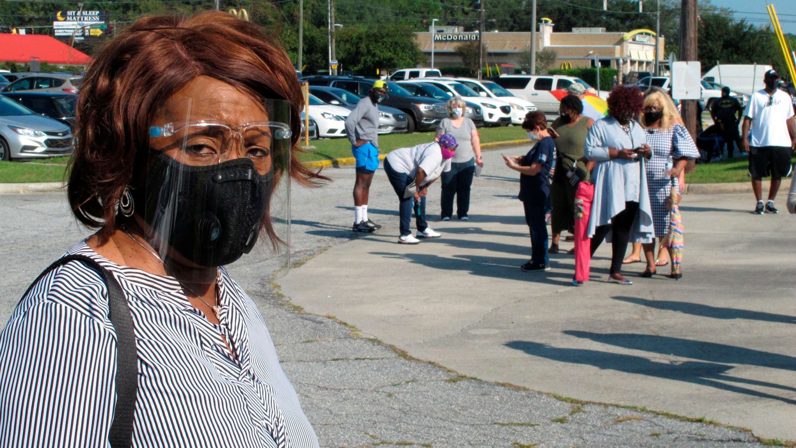 History Mistrust Spurring Black Early Voters In Georgia Kget 17