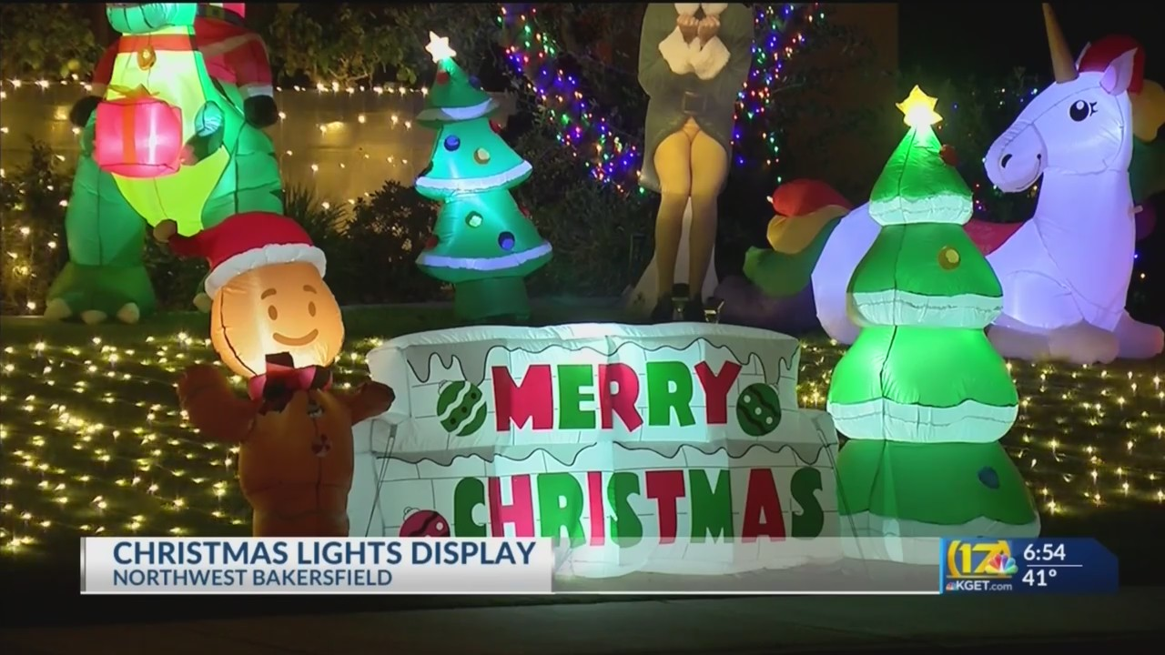 Where To See Christmas Lights Near. Bakersfield Ca 2021 Bakersfield Man Sets Up Massive Lights Display To Provide Holiday Cheer Kget 17