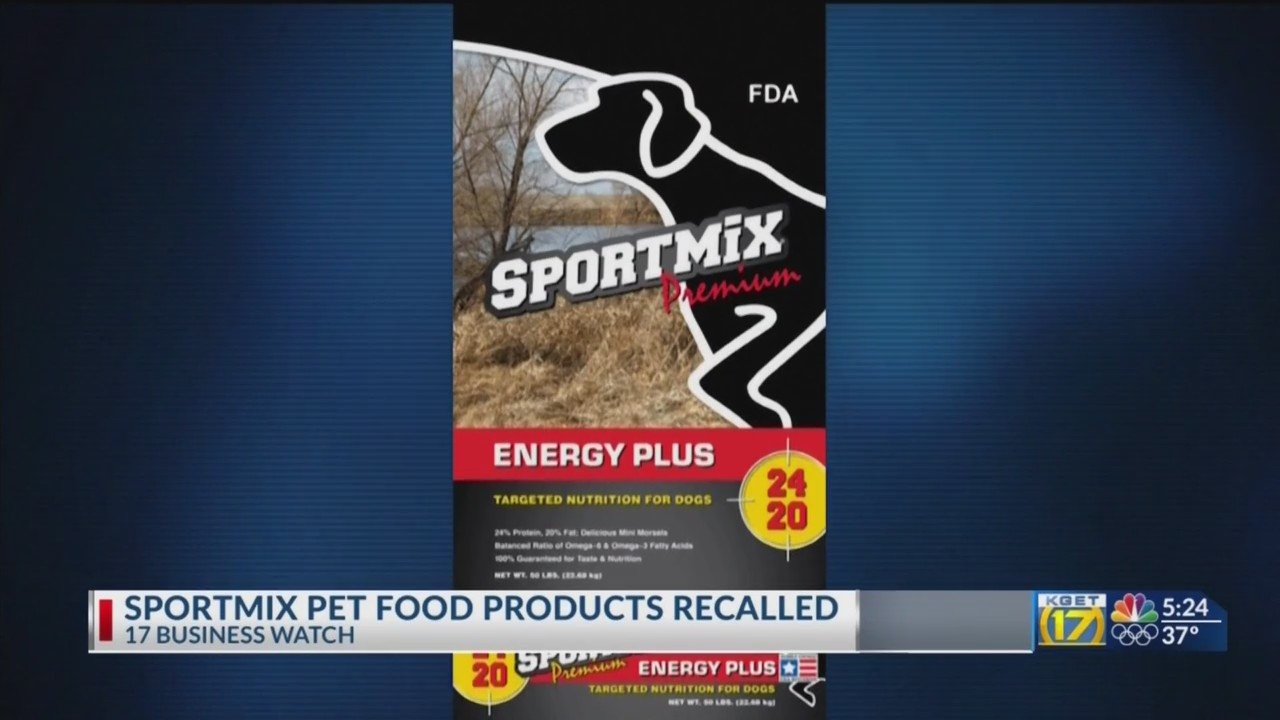 Fda Recalls Sportmix Pet Food Products After 28 Dogs Die Kget 17