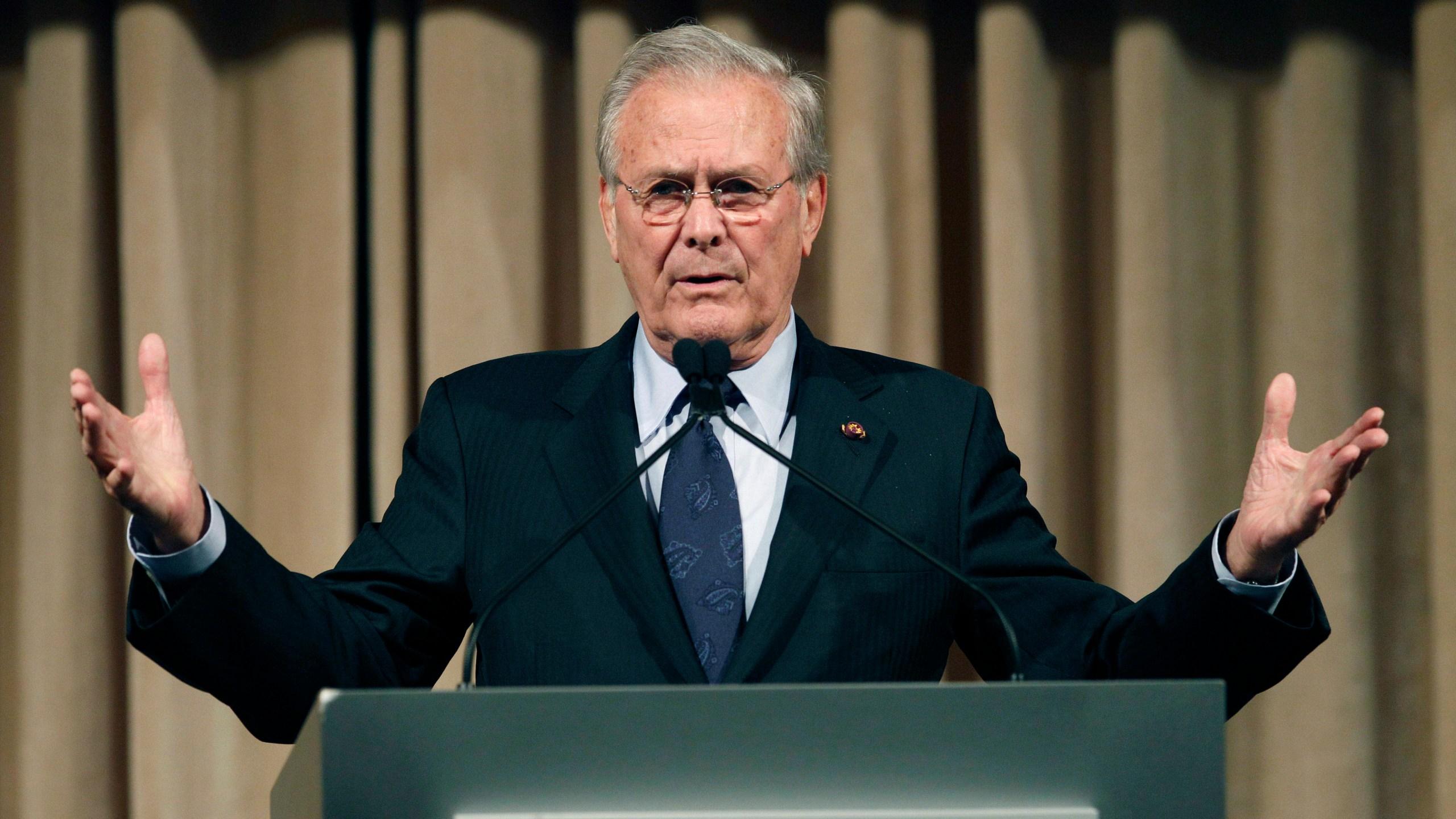 Donald Rumsfeld