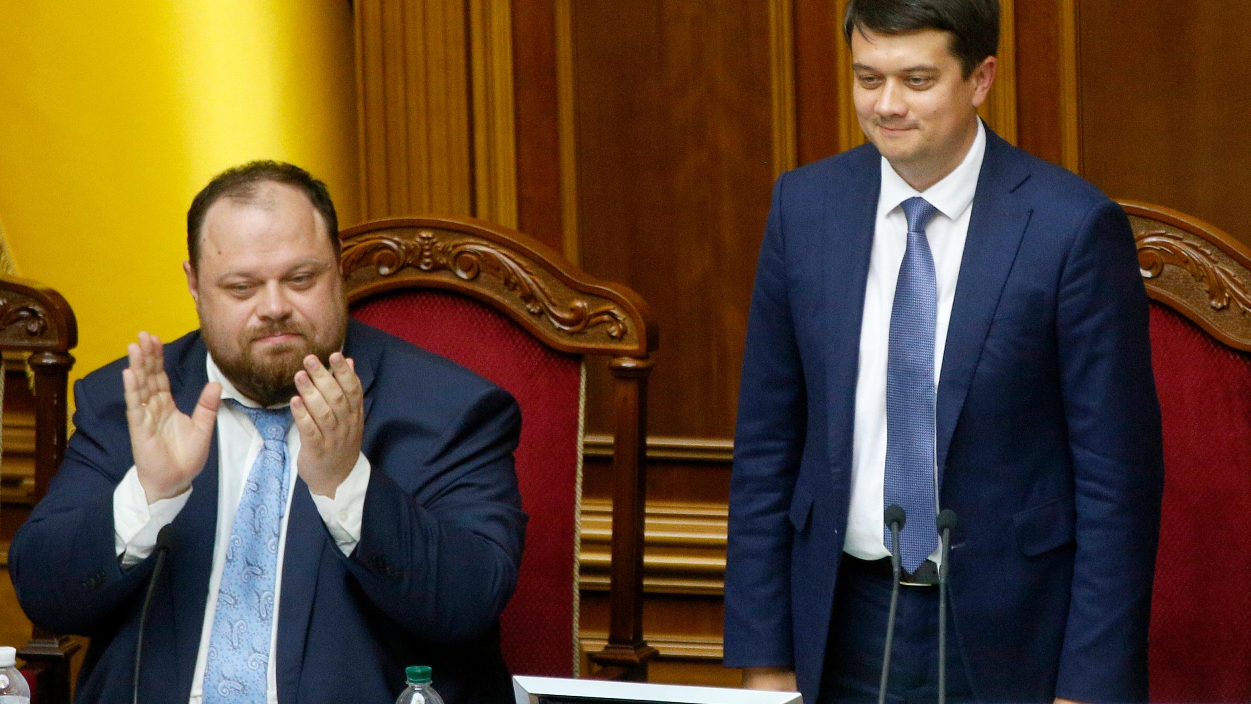 Dmytro Razumkov, Russian Stefanchuk